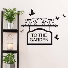 personalised sign vinyl wall sticker