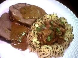 cuisiner la biche biche rôtie aux girolles et au madère recette volailles et