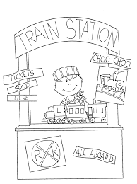 free dearie dolls digi stamps train station booth
