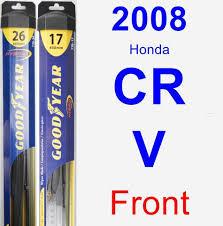 2008 honda crv wiper blades 2008 honda cr v wiper blade by goodyear hybrid carpartsclub com