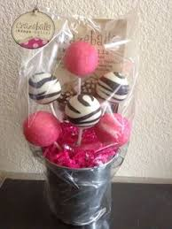 cake gift baskets crazeballs mr and mrs cake pops crazeballs cake