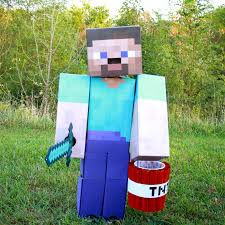 minecraft costume midwestern diy minecraft costume