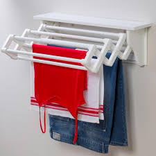 Wall Mounted Cloth Dryer Laundry Room Fascinating Wall Mounted Clothes Drying Rack Uk