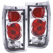 mazda b2200 anzo usa mazda b2000 b2200 b2600 pickup 86 93 tail lights chrome