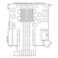 Floor Plan Wedding Reception Villa Luna Wedding Reception Banquet Floor Plans Large