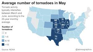World Map Of Tornadoes by 4 Dead After Tornadoes Slam Texas Arkansas 3 Missing People