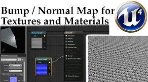 Bump Map Ue4 U0026 Gimp Tutorial Normal Map Bump Map For Textures And