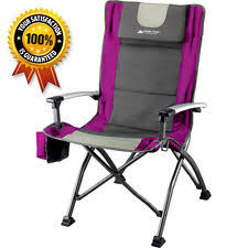 Portable Armchair Ozark Trail Folding Low Back Portable Chair Cup Holder Outdoor