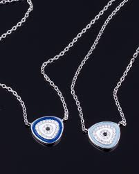 silver eye necklace images Silver evil eye necklace sterling silver necklace jpg