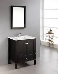 24 Inch Bathroom Vanity Cabinet Home Designs Black Bathroom Vanity Black Bathroom Sink Cabinet