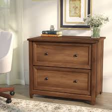 Wood Lateral File Cabinet 2 Drawer Wood Cabinet Three Posts Lamantia 2 Drawer Lateral Filing