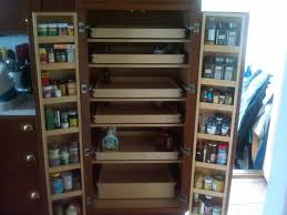 Sliding Shelves For Kitchen Cabinets Pull Out Pantry Cabinets With Cabinet Pull Out Shelves Kitchen