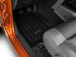 jeep wrangler mats 2007 2018 jeep wrangler floor mats extremeterrain free shipping