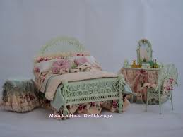 country bedroom set by serena johnson country style dollhouse
