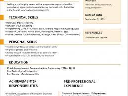 Sample Resume Communication Skills Sample Resume Format Cv Resume Ideas