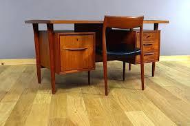 bureau vintage scandinave bureau design scandinave bureau design en teak vintage bureau design