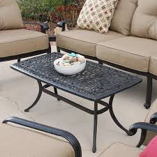 Cast Aluminum Patio Furniture Clearance by Shop Patio Tables At Lowes Com Target Coffee 6432316 Thippo