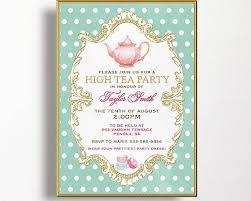 kitchen tea invites ideas the 25 best high tea invitations ideas on tea