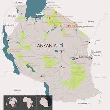 Lake Victoria Map 1tanzania Explorer Safari Map Luxury African Safaris South