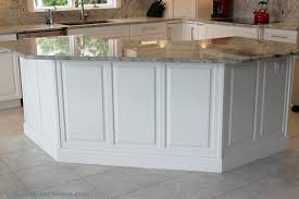kitchen island panels wainscot panel archives home stores