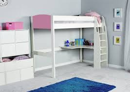 Stompa Bunk Beds Stompa Unos High Sleeper Frame With Desk Only Childrens Beds Beds