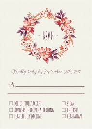 wedding reply cards 9 best rsvp reply card design images on wedding