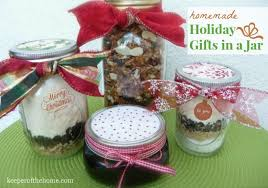 Mason Jar Crafts For Christmas Presents by The Best Homemade Holiday Gifts In A Jar Keeper Of The Home