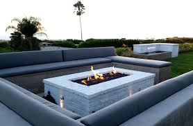 rectangle propane fire pit table rectangular fire pits mindmirror info