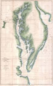 Chesapeake Bay Map File 1851 U S Coast Survey Chart Or Map Of The Chesapeake Bay And