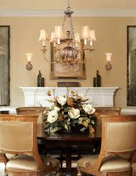 Traditional Flower Arrangement - dried flower arrangements dining room traditional with beige