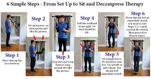 how to decompress spine without inversion table amazon com sit and decompress the ultimate back stretcher