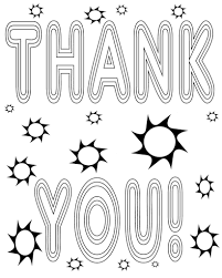 stunning thank you coloring pages pictures printable coloring