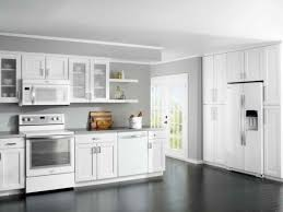 Shaker Doors For Kitchen Cabinets by Plywood Raised Door Winter White Best Brand Of Paint For Kitchen