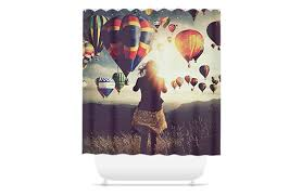 Airplane Shower Curtain Customizable Shower Curtains Hellopics