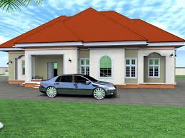 3 bedrooms bungalow floor plans at nigeria home combo