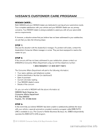nissan altima 2013 issues nissan altima 2013 l33 5 g consumer safety air bag information guide