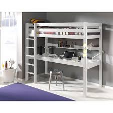 bureau superposé prix lit enfant superposé bureau pino blanc achat