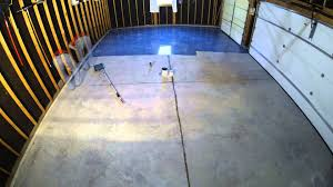 Rock Solid Garage Floor Reviews by Valspar Garage Floor Epoxy Application November 2 Youtube