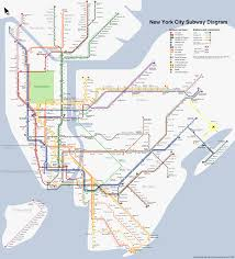 Brooklyn Subway Map by Metro Nyc Subway Map My Blog