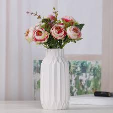 ceramic flower vase home decor simple luxury desk decor wedding