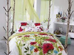 chambre fleurie décoration chambre fleurie