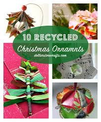 10 recycled ornaments dollar store crafts