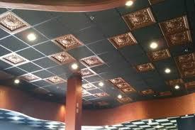 Painting Drop Ceiling by Ceiling Ravishing Black Drop Ceiling Tiles 2x4 Exceptional Black