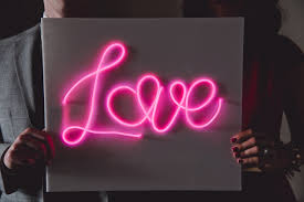 how to make a diy neon sign with el wire a practical wedding a