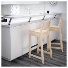 norråker bar stool with backrest ikea