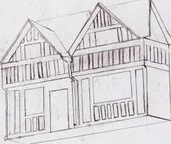 drawing houses i can t draw elizabethan houses the dark corner of the mind