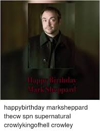 Supernatural Birthday Meme - 25 best memes about happy birthday mark meme happy birthday