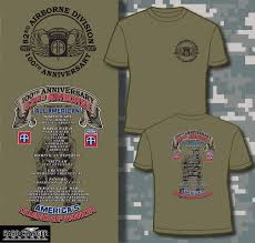 82nd airborne division 100th anniversary t shirt hard charger