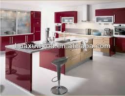 Dark Walnut Kitchen Cabinets by Bright Red Walnut Kitchen Cabinet Buy Knockdown Kitchen Cabinets
