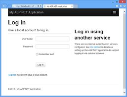 creating asp net web projects in visual studio 2013 microsoft docs